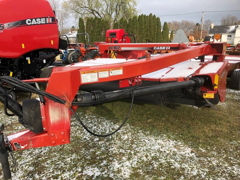2011 Case IH DC102 Mower Conditioner For Sale