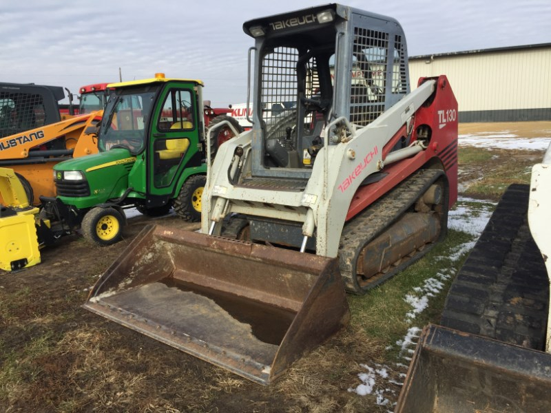 2006 Takeuchi TL130 Skid Steer For Sale