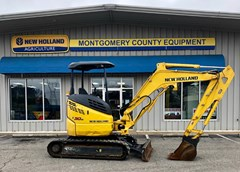 Excavator-Mini For Sale:  2015 New Holland E30B , 23 HP