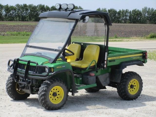 2008 John Deere XUV 850D Utility Vehicle For Sale