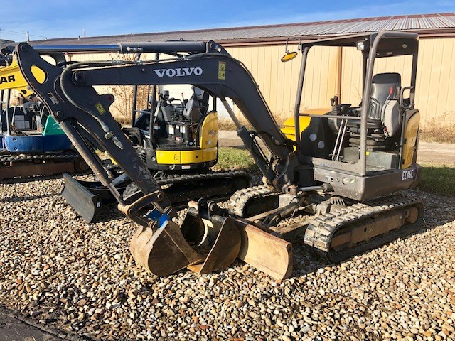 2013 Volvo EC35C Excavator-Mini For Sale