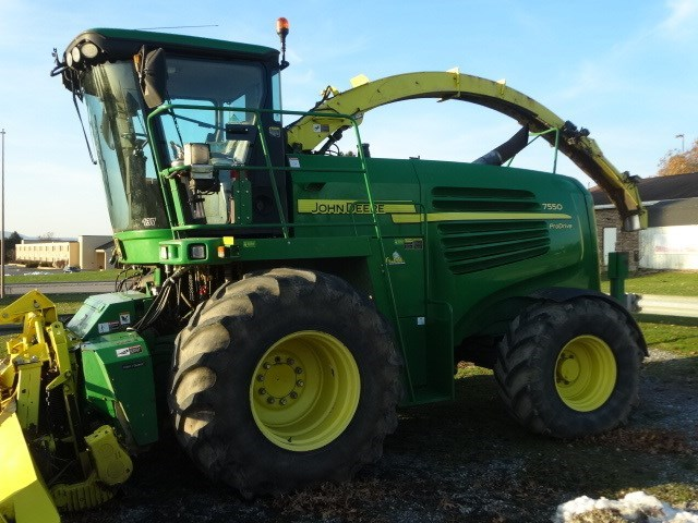 2012 John Deere 7550 Forage Harvester-Self Propelled For Sale