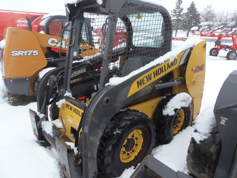 2014 New Holland L216 Skid Steer For Sale