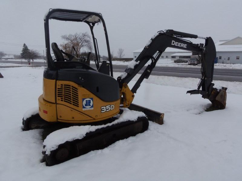 2013 John Deere 35D Excavator-Mini For Sale