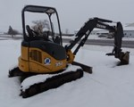 Excavator-Mini For Sale: 2013 John Deere 35D, 30 HP