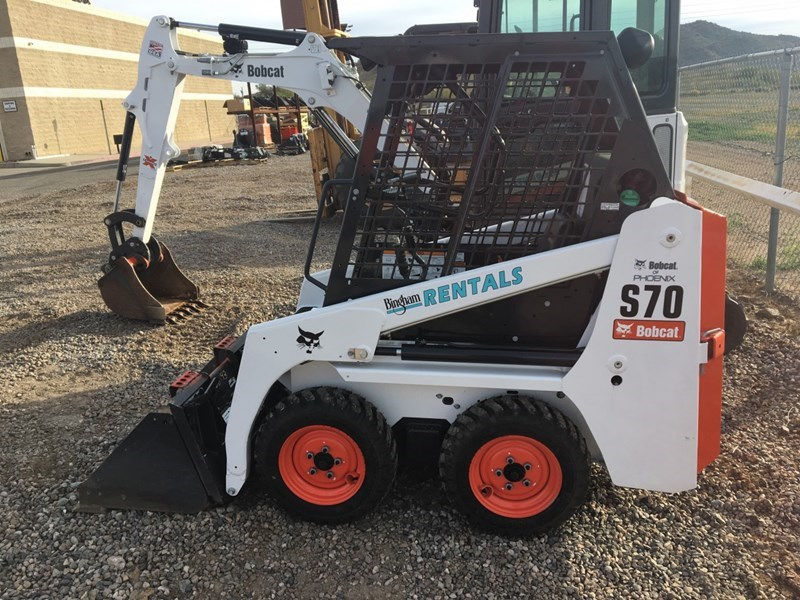 Bobcat S70 Skid Steer Bingham Equipment Company