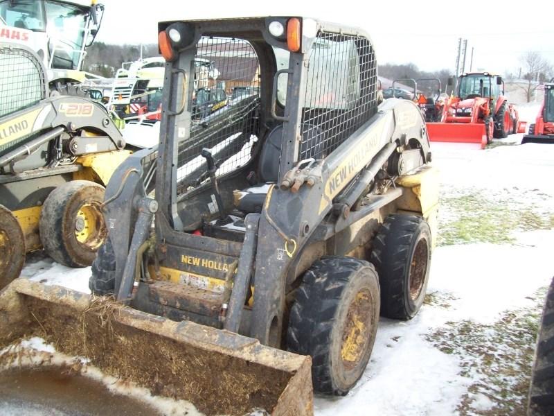 2011 New Holland L218 Skid Steer For Sale
