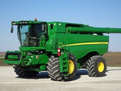 Combine For Sale 2013 John Deere S680 , 473 HP