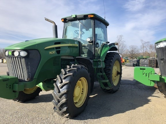 2010 John Deere 7630 Tractor - Row Crop For Sale