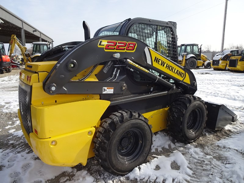 2018 New Holland L228 Skid Steer For Sale