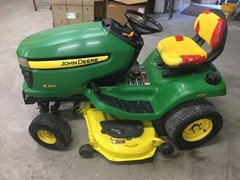 Riding Mower For Sale 2007 John Deere X324 , 22 HP