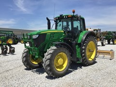 Tractor - Row Crop For Sale 2017 John Deere 6175M , 175 HP