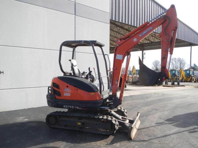 2011 Kubota KX071-3 Excavator-Mini For Sale