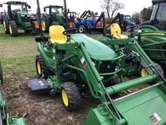 Tractor For Sale 2016 John Deere 1023E