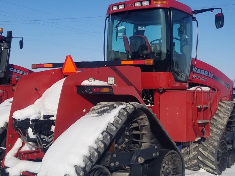 2009 Case IH STEIGER 485 Tractor For Sale