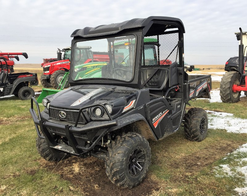 2018 Kubota RTV-XG850 Utility Vehicle For Sale