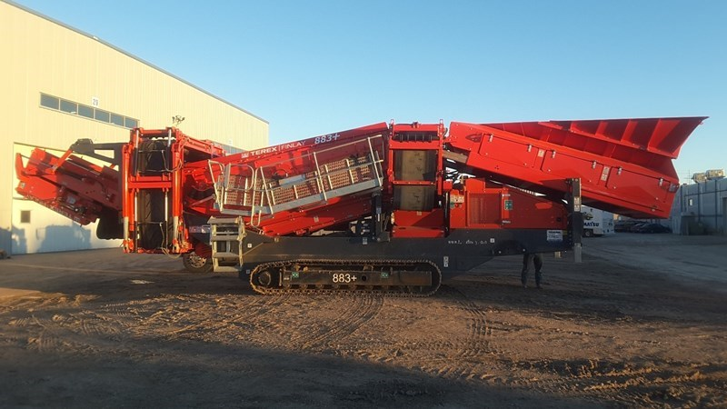 2018 Finlay 883+ Screening Plant - Hydraulic For Sale
