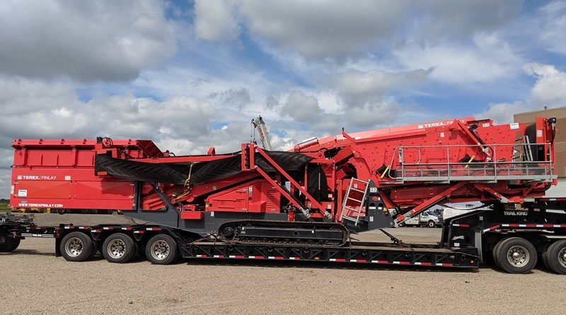 2018 Finlay 684-3D Screening Plant - Hydraulic For Sale