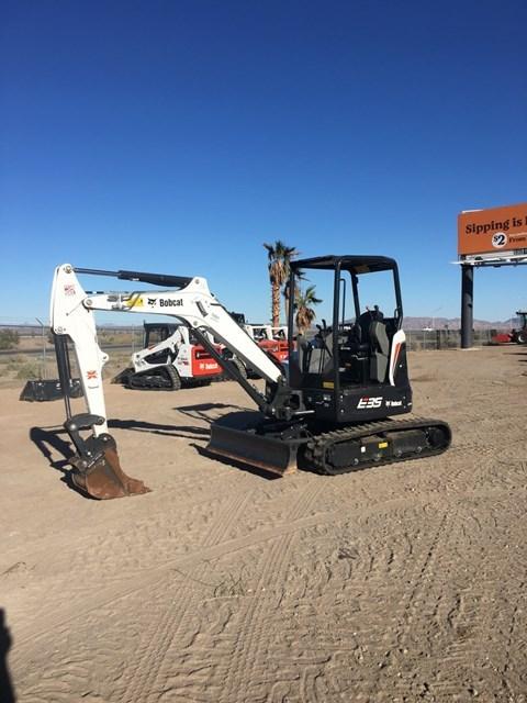 Bobcat E35I T4 Excavator-Track