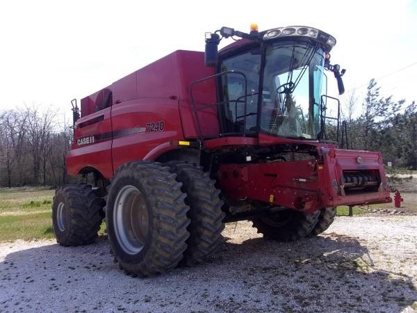 2015 Case IH 7240 Combine For Sale