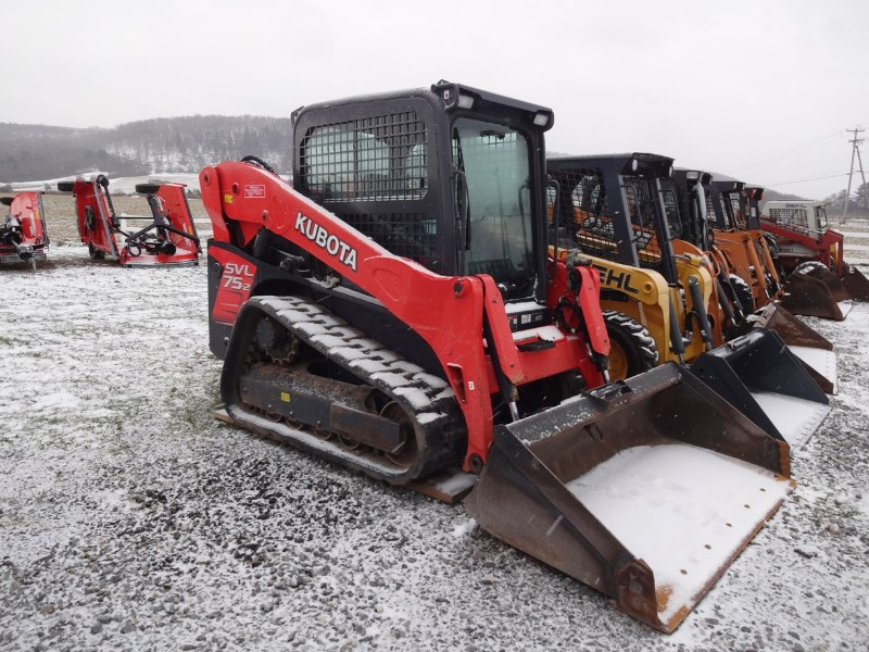 2015 Kubota SVL75-2HWC Skid Steer-Track For Sale