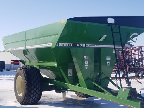 Grain Cart For Sale:  2004 Brent 876