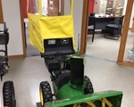Snow Blower For Sale: John Deere 828D W/Cab, 8 HP