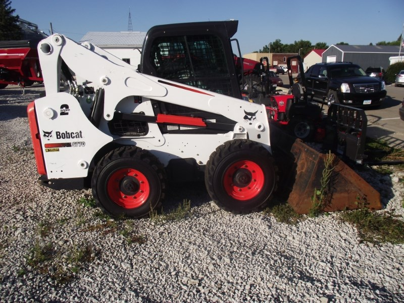 2015 Bobcat S770 Skid Steer For Sale