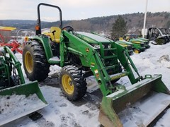 Tractor For Sale:  2013 John Deere 4120 , 43 HP