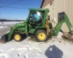Tractor For Sale: 1993 John Deere 755, 20 HP