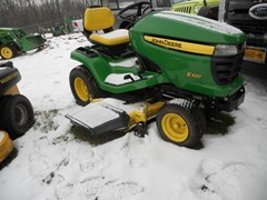 Riding Mower For Sale 2012 John Deere X320 , 22 HP