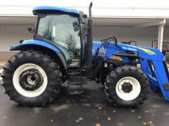 Tractor For Sale 2008 New Holland T6030 , 115 HP