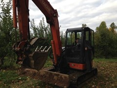 Excavator-Mini For Sale 2013 Hitachi ZX60USB-3