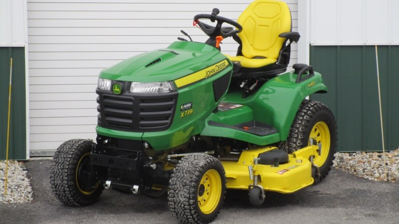 2016 John Deere X739- Riding Mower For Sale