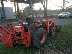 Tractor For Sale 1999 Kubota L35 , 35 HP