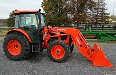 Tractor - Utility For Sale 2017 Kubota M5-091 , 91 HP