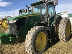 Tractor - Row Crop For Sale 2015 John Deere 7250R , 250 HP