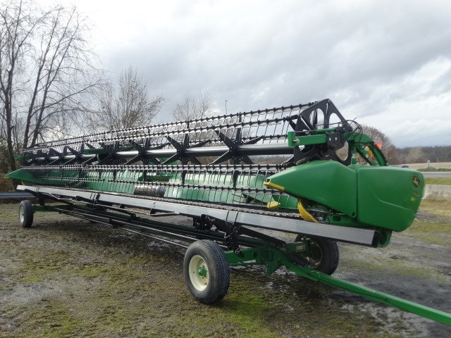 2014 John Deere 640FD Header-Draper/Rigid For Sale