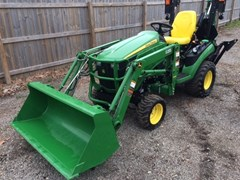 Tractor - Compact For Sale 2015 John Deere 1025R , 25 HP