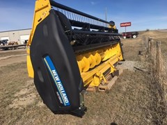 Header-Auger For Sale 2017 New Holland HS18 BTO:-Rubber on rubber chevron