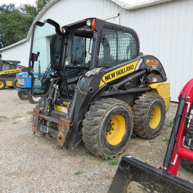 2011 New Holland L220 Skid Steer For Sale