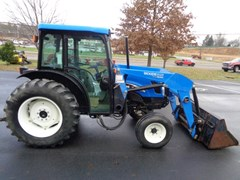 Tractor For Sale 2005 New Holland TN70D , 70 HP
