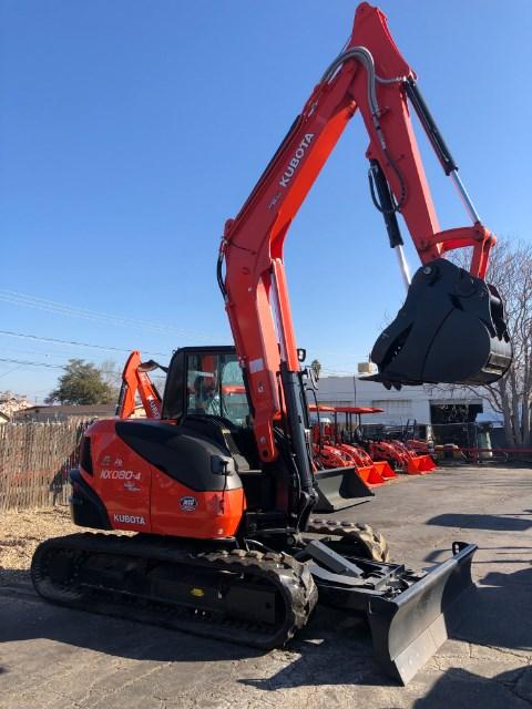 2019 Kubota KX080-4 Excavator-Track For Sale