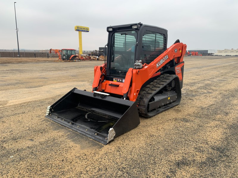 2019 Kubota SVL75-2 Skid Steer-Track For Sale