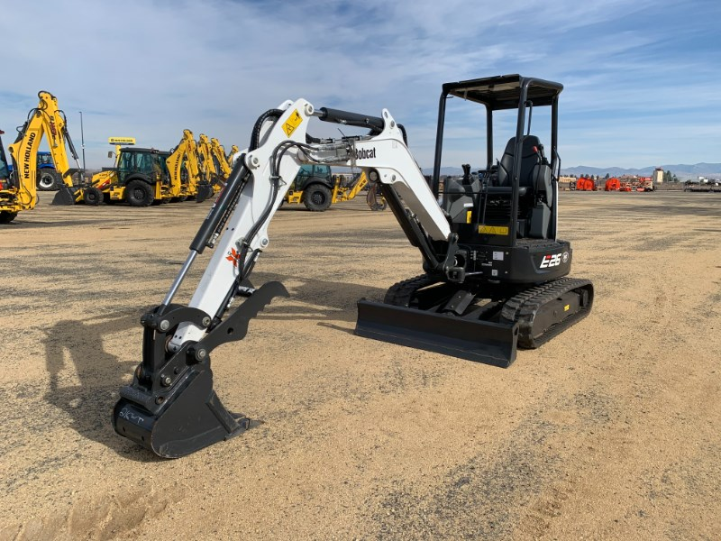 2018 Bobcat E26T4 Excavator-Mini For Sale