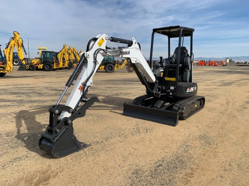 2018 Bobcat E26 Excavator-Mini For Sale