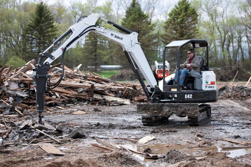 2018 Bobcat E42 Excavator-Mini For Sale