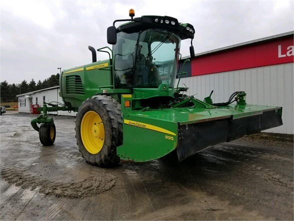 2015 John Deere W235 Windrower-Self Propelled For Sale