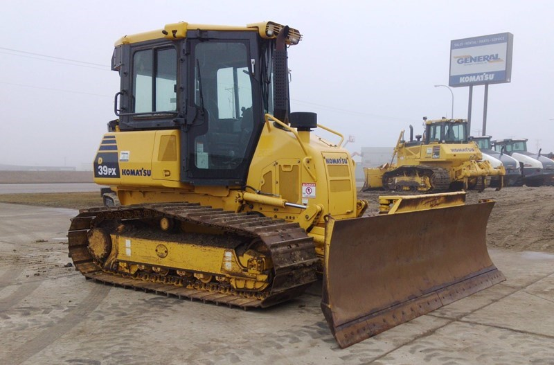 2011 Komatsu D39PX-22 Crawler Tractor For Sale