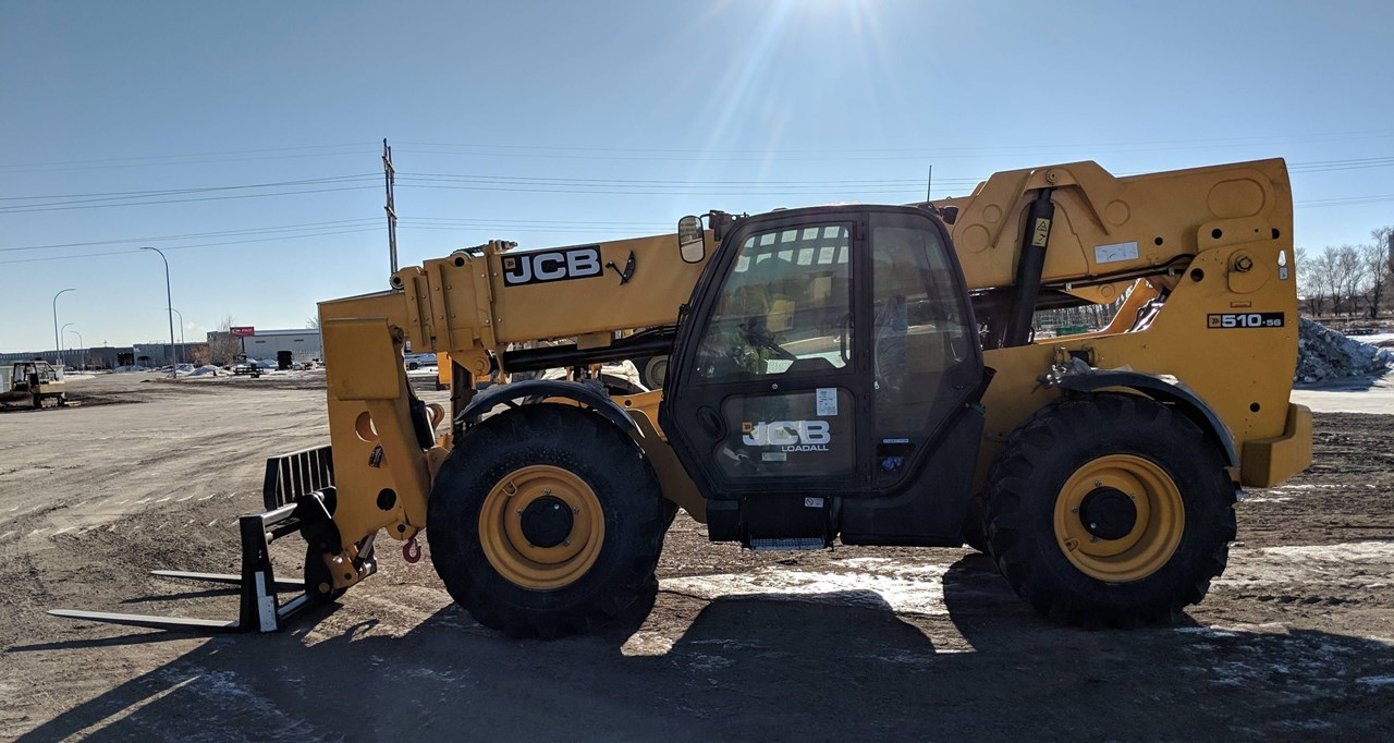 2019 JCB 510-56 Forklift For Sale